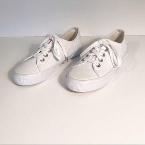 LAUREN by Ralph Lauren White Sneakers 6 1/2 - 7 *